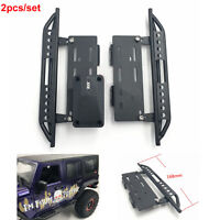 2X Metal Side Step Plate Pedal for 1:10 Axial Scx10 Scx-10ll RC Car Crawler Part