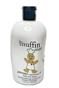 Philosophy The Muffin Man 16 FL OZ Foaming Bubble Bath and Shower Gel Sealed