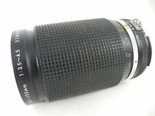 NIKON 35~135 AIS MICRO NIKKOR ZOOM LENS PERFECT GLASS SMOOTH FOCUS AND ZOOM