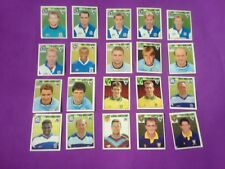 MERLIN PREMIER LEAGUE 1995 Football STICKERS -20 loose stickers still on backing