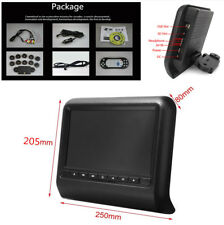 Fashion 9'' TFT LCD Headrest Monitor Entertainment Games Multimedia DVD Player