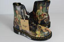 Dr. Martens Pascal Hogarth Renaissance Boots Size 4 Mens / 5 Womens R565
