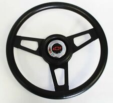 "Chevy Truck C / K Blazer Grant Black on Black Steering Wheel 13 3/4"" Red/Black"
