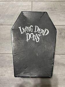 Living Dead Dolls Edgar Allen Poe and Annabel Lee Halloween Vintage Incomplete