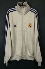 VTG MENS ADIDAS FC REAL MADRID 2007/2008 JACKET TRAINING SOCCER FOOTBALL SIZE XL