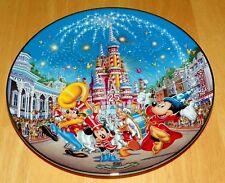 Collector Plate Walt Disney World 25th Anniv Birthday Celebration # 8 OF 12 COA