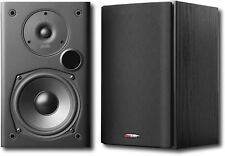 "Open-Box Excellent: Polk Audio - 5-1/4"" Bookshelf Speakers - Pair - Black"