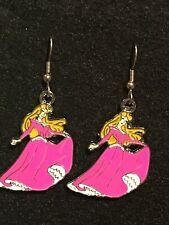 AURORA Earrings Stainless  Hook New Princess Sleeping Beauty Disney