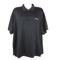 Columbia PFG Size XL Men's Polo Shirt Omni-Shade S/S Vented Fishing Hiking Black