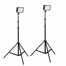 LED160 Photo Studio  Video Lighting Kit  Interviews Portraits Photography