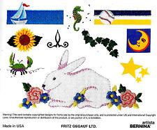 MEDLEY - Studio Bernina Embroidery Memory Card for Artista 165 170 180 200