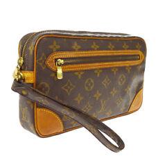 LOUIS VUITTON MARLY DRAGONNE CLUCTH HAND BAG PURSE MONOGRAM fc M51825 A51476