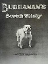 Black & White Whisky Amberton Cupid Crumpsall Squire Bulldog 1912 Advertisement