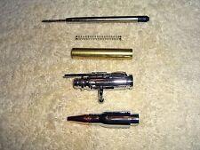 Five 30 Caliber Bolt Action Chrome Bullet Pen Kits Free Shipping $10 each
