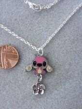 "Angel Enamel Pendant Necklace 18"" Lilo and Stitch Birthday Gift Present # 335"