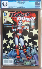 HARLEY QUINN #1 Cover A (2014 series) - Connor Cover - CGC 9.6