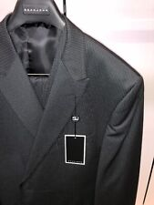 BNWT Sean John 48R Black and White Fashion Pinstriped Vested 3PC Suit Designer