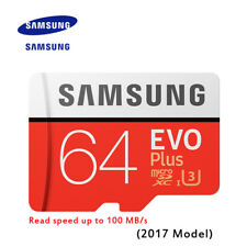 Original SAMSUNG EVO Memory Micro SD TF Card  64GB  Class10 U3 4K HD 100 MB/s