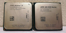 (3) Amd Cpus - Athlon Ii Adx630Wfk42Gi - A8-5500 Ad55000Ka44Hj - Amd Phenom Ii