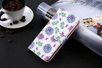 Funda flip libro piel sintetica estampado monedero Umi Plus