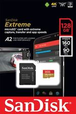 Genuine Sandisk 128GB Extreme MicroSD SDXC Card U3, V30, A2, 160MB/s, UK Seller