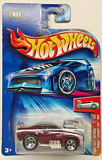 Hot Wheels 2004 First Editions Tooned 1969 CAMARO Z28 (Burgandy) #071