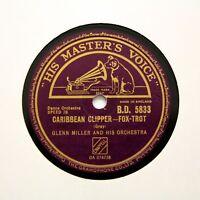 "GLENN MILLER & HIS ORCHESTRA ""Caribbean Clipper"" (E+) HMV BD-5927 [78 RPM]"