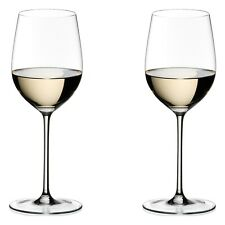"""PAIR of RIEDEL """"Sommeliers"""" CHABLIS / CHARDONNAY Glasses Hand-blown NEW"""