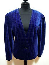 SOMMERMANN Giacca Donna Velluto Piedipull Velvet Woman Jacket Sz.L - 46