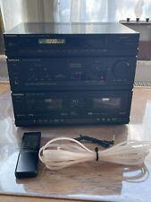 Technics SA-X800 MIDI Format Kompaktanlage mit Fernbedienung schöner Zustand