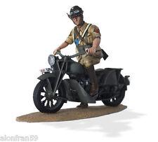 Soldados de Plomo en Moto 1:30 Die Polizei Afrika Italienisch. Guzzi GT17-SMI035