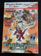 Bandai Wonderswan Color Digimon Tamers: Battle Spirit CIB Japan Import