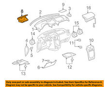 Chevrolet GM OEM 06-11 HHR Instrument Panel Dash-Compartment 20777103