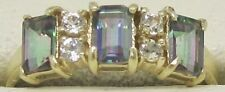 Topaz Yellow Gold Plated Fashion Rings