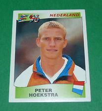 N°93 PETER HOEKSTRA NEDERLAND PANINI FOOTBALL UEFA EURO 96 EUROPE EUROPA 1996
