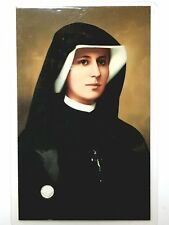 St Faustina Kowalska relic card the Apostle of Divine Mercy intercession prayer