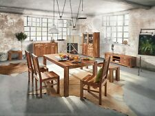 2er Stuhl Set Vision 2831, Akazie massiv, Acana, Esszimmerstuhl, Wolf Möbel