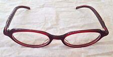 NEW HIDIKI Dark Red Frame Reading Glasses HK-219 48-18-140 Japan $320