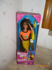 '93 Glitter Hair Red Barbie Scintillante Bruna hawaiian superstar picture pretty