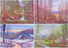FOUR SEASONS Art Prints WINTER Spring SUMMER Fall LANDSCAPES W. Harold Hancock