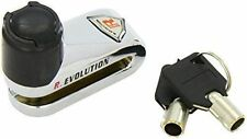 Bloccadisco blocca disco freni moto scooter cromato 5,5 mm con 2 chiavi bottari