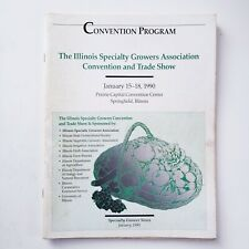 Illinois Specialty Growers Association Convention and Trade Show Program 1990