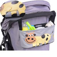 Baby Organiser Mummy Bag Storage Buggy Stroller Pram Pushchair Bottle Cup Stands