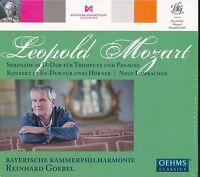 Leopold Mozart CD NEW Reihard Goebel Bayerische Kammerphilharmonie