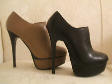 Clubwear Ankle 100% Leather Boots for Women