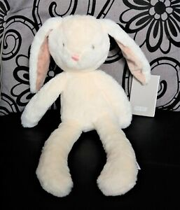 Mamas & Papas ~ My 1st Bunny Baby Cream First Soft Comforter Hug Toy ~ 37cm BNWT