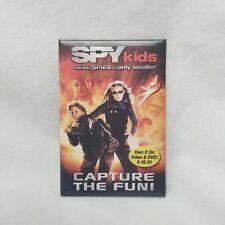 Spy Kids Promo Movie Button Pin