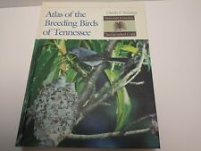 Atlas Of The Breeding Birds Of Tennessee Charles P. Nicholson Signed