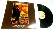 King Kong Score Soundtrack LP Max Steiner conducted by Leroy Holmes Fay Wray