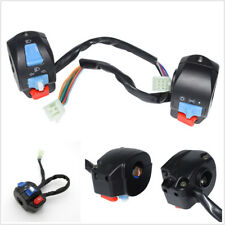 "2 Pcs 7/8"" 22mm Motorcycle ATV Handlebar Horn Turn Signal Controller Switch Kit"